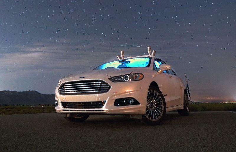 Форд разработывает новые прототипы беспилотных авто