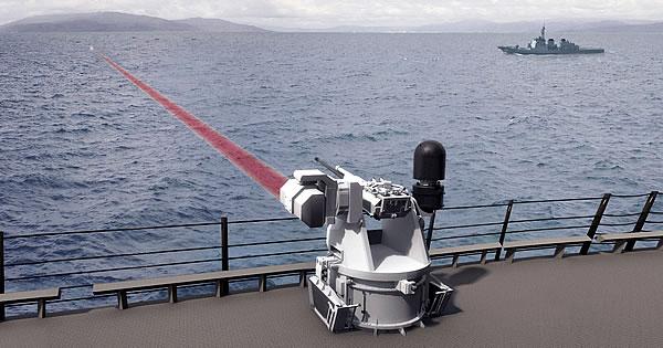 Великобритания примет навооружение лазерное оружие встиле «Звездных войн»