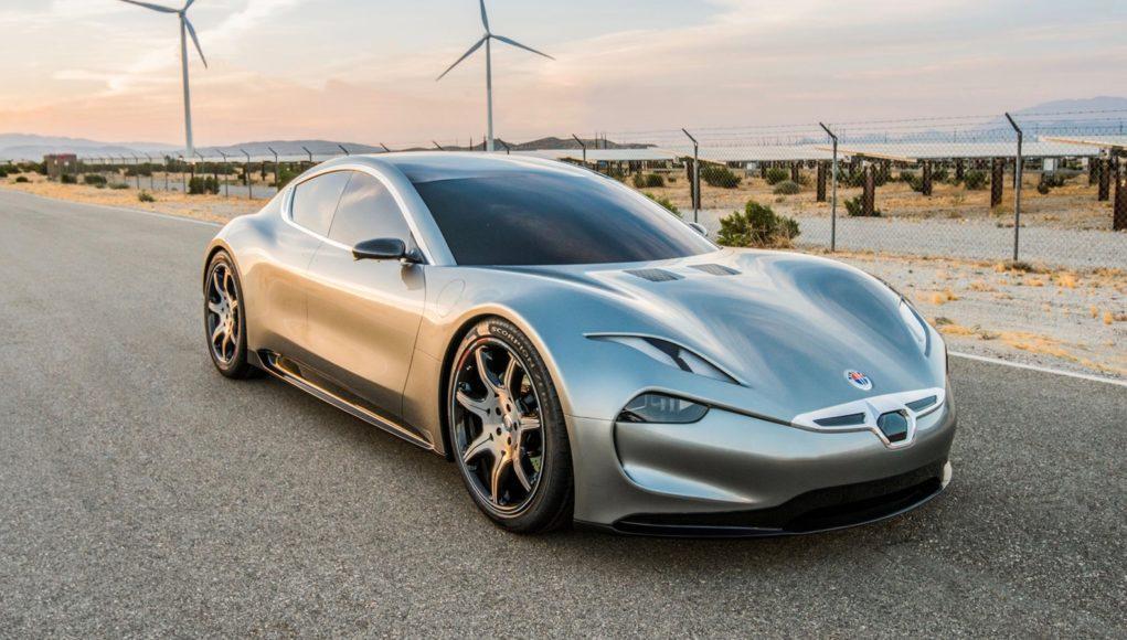 Новый электрокар Fisker EMotion показали вЛас-Вегасе