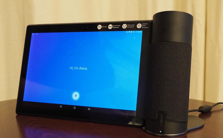 Lenovo представила смарт-колонку с дисплеем Smart Display