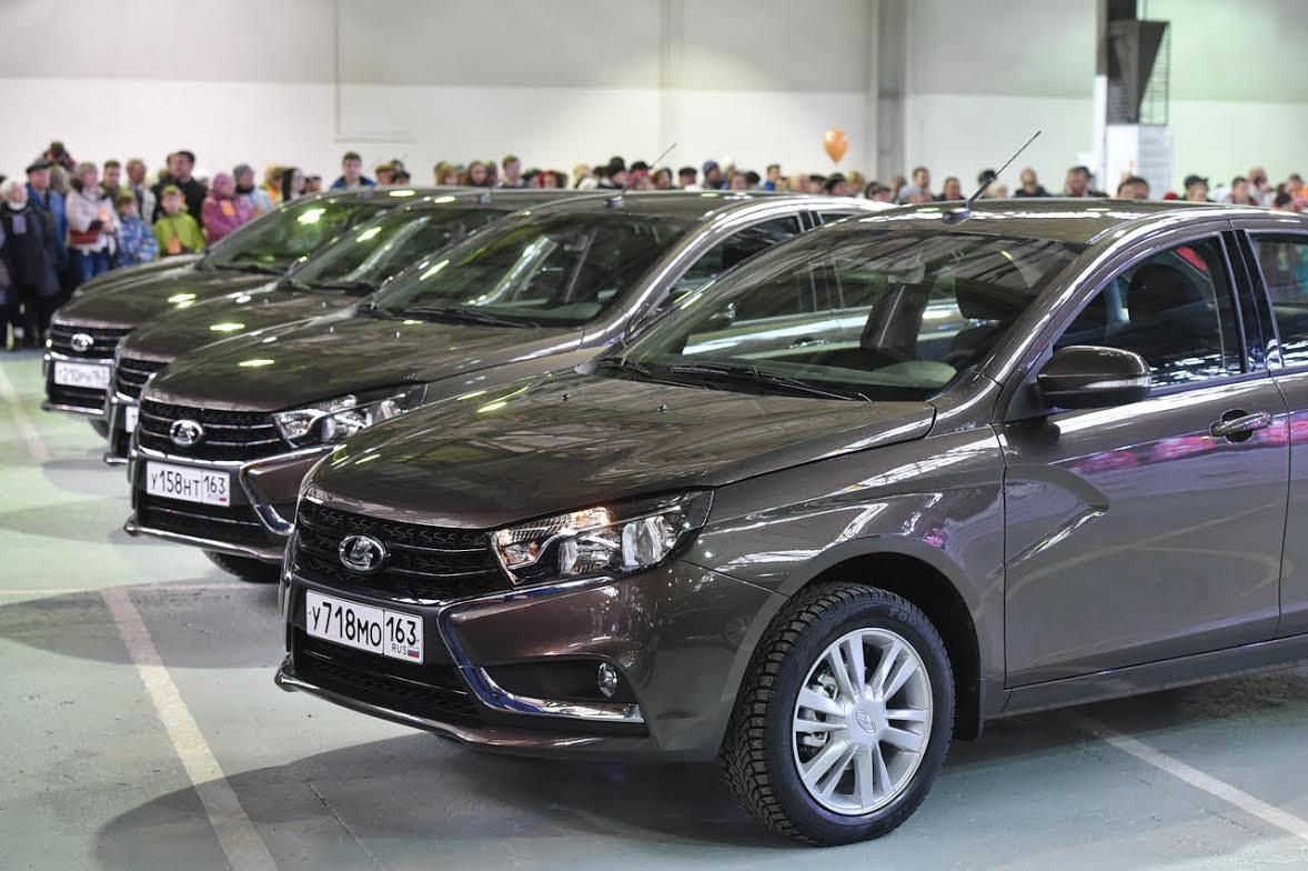 Волжский автомобильный завод стал лидером попродажам авто в РФ в 2016г.