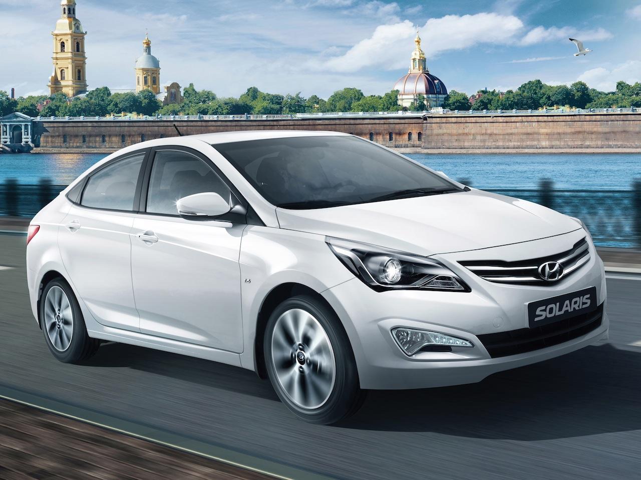 Hyundai Solaris стал самой продаваемой легковушкой прошлого года