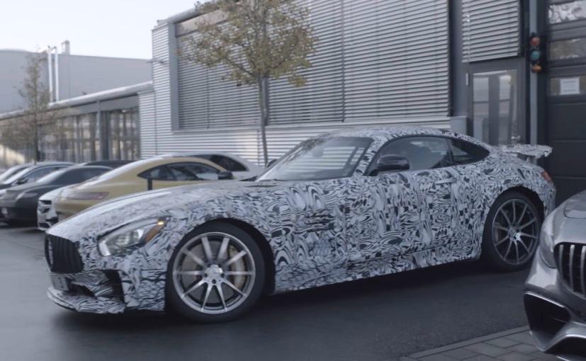 Новый Mercedes-AMG GT Sedan практически готов к презентации в Детройте