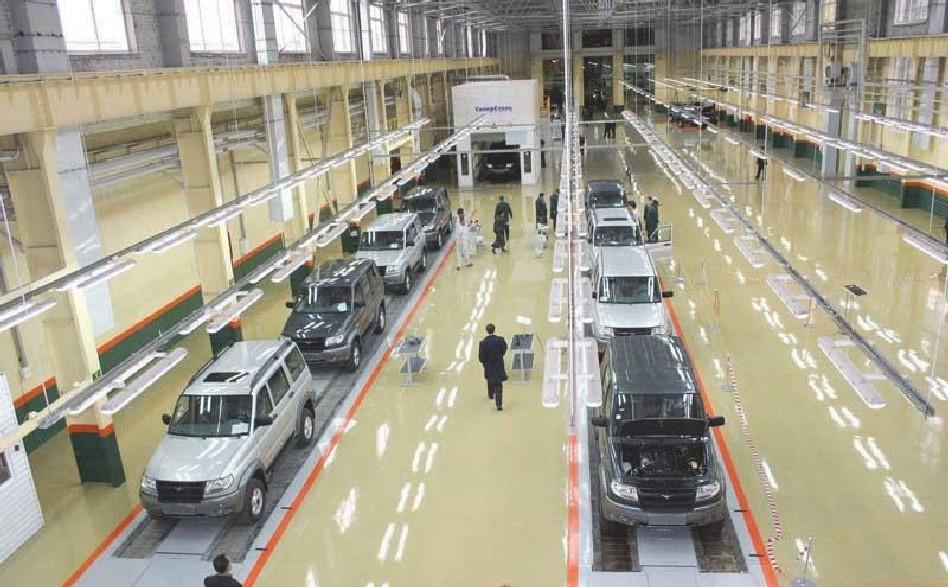 УАЗ вошел вТОП-10 производителей автомобилей попродажам в Российской Федерации