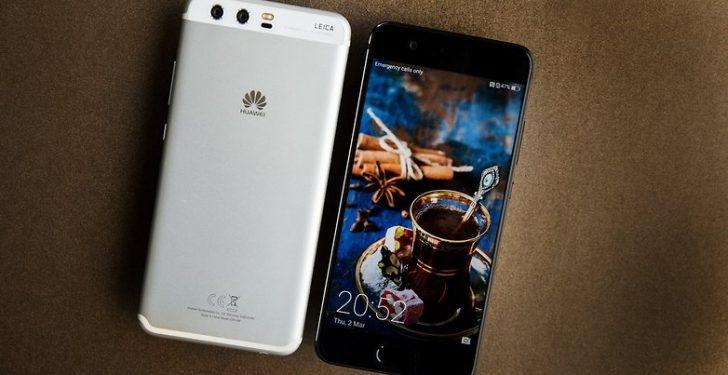 Винтернете появились фотографии Huawei P20 стремя камерами