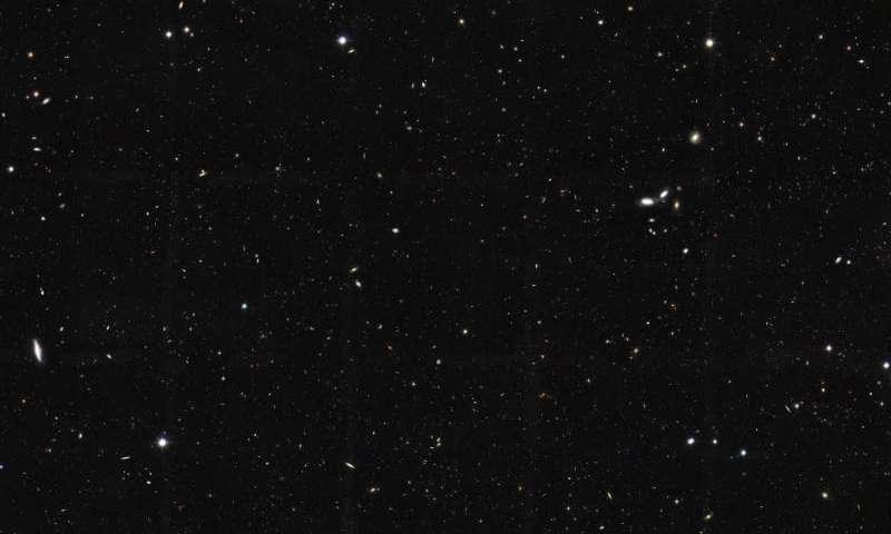 Ученые насчитали воВселенной два триллиона галактик
