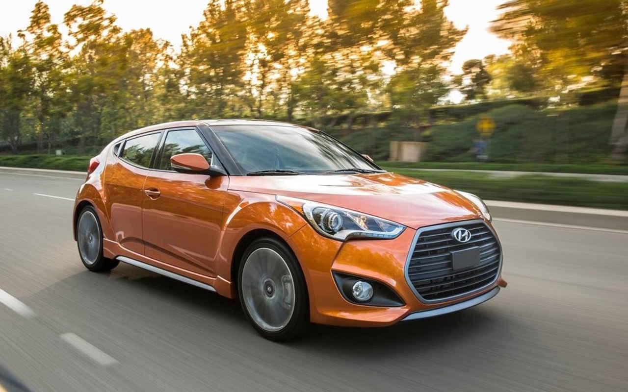 Новый Hyundai Veloster дебютировал в Детройте