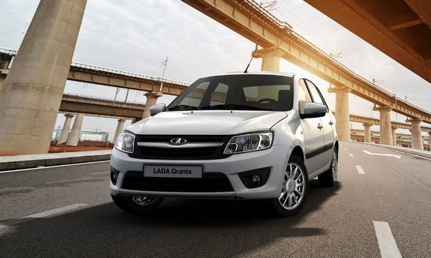 АвтоВАЗ начал/ тестировать обновленную модель седана LADA Granta