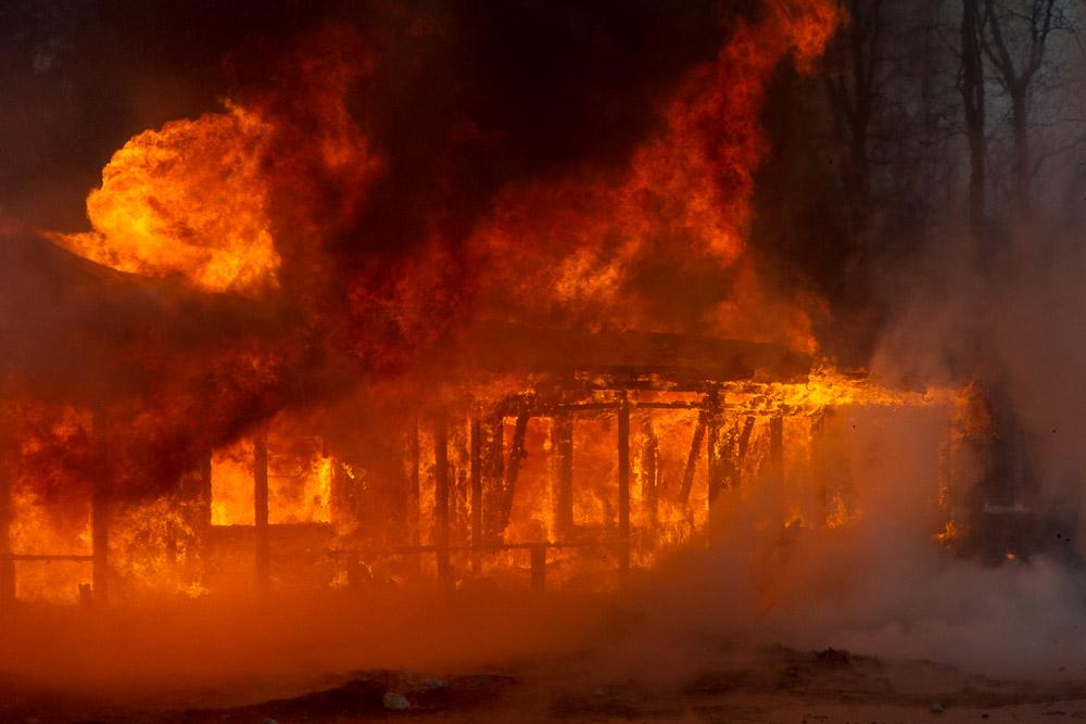 ВТутаевском районе пожар вквартире забрал жизнь мужчины