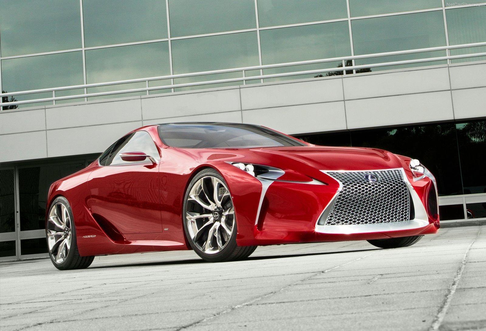 Lexus может выпустить заряженный LC и версию в кузове кабриолет