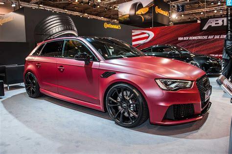 Тюнинг-ателье увеличило мощность Ауди RS3 Sportback до493 л.с
