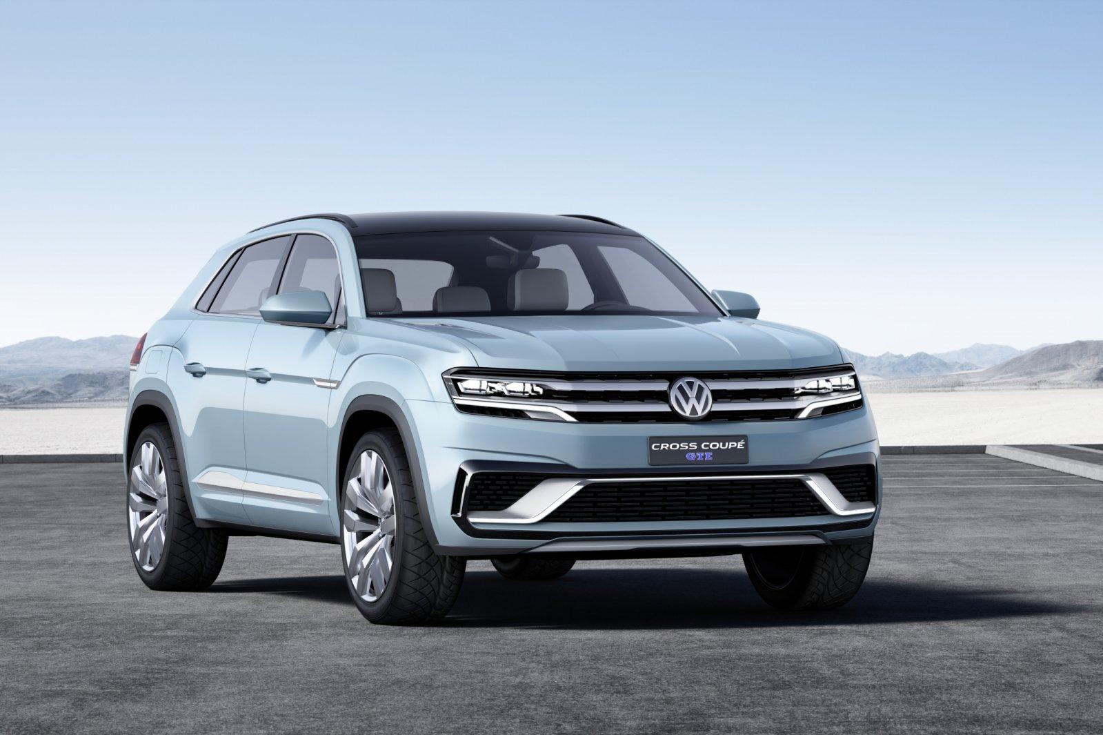 Размещены первые изображения электрокроссовера VW IDCross