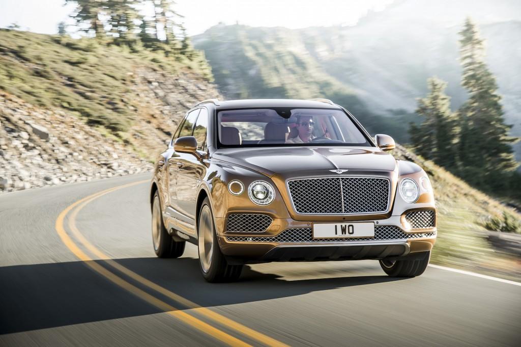 Bentley Bentayga попытается стать самым быстрым SUV вгонке наПайкс Пик