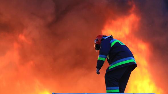 ВЛесосибирске впожаре обнаружили 2-х раненых мужчин