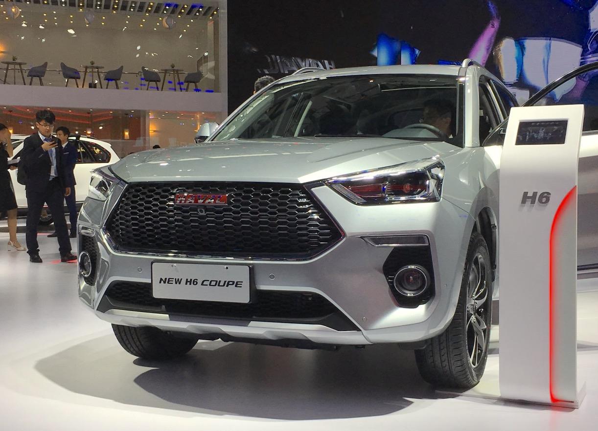 Great Wall начала продажи нового Haval H6 Coupe