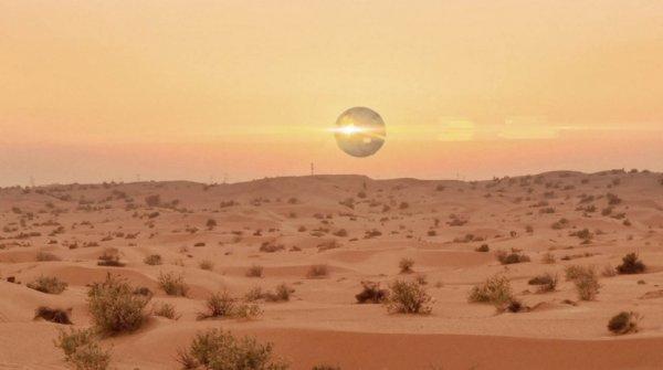 Необычное явление попало вобъективы камер впустыне штата Аризона
