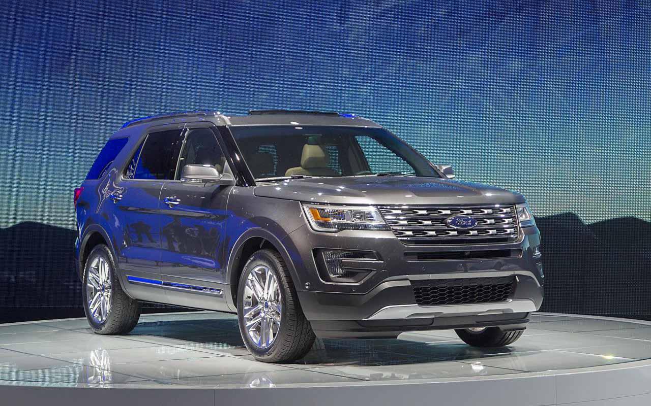 Натесты выехал джипа Форд Explorer обновленного поколения
