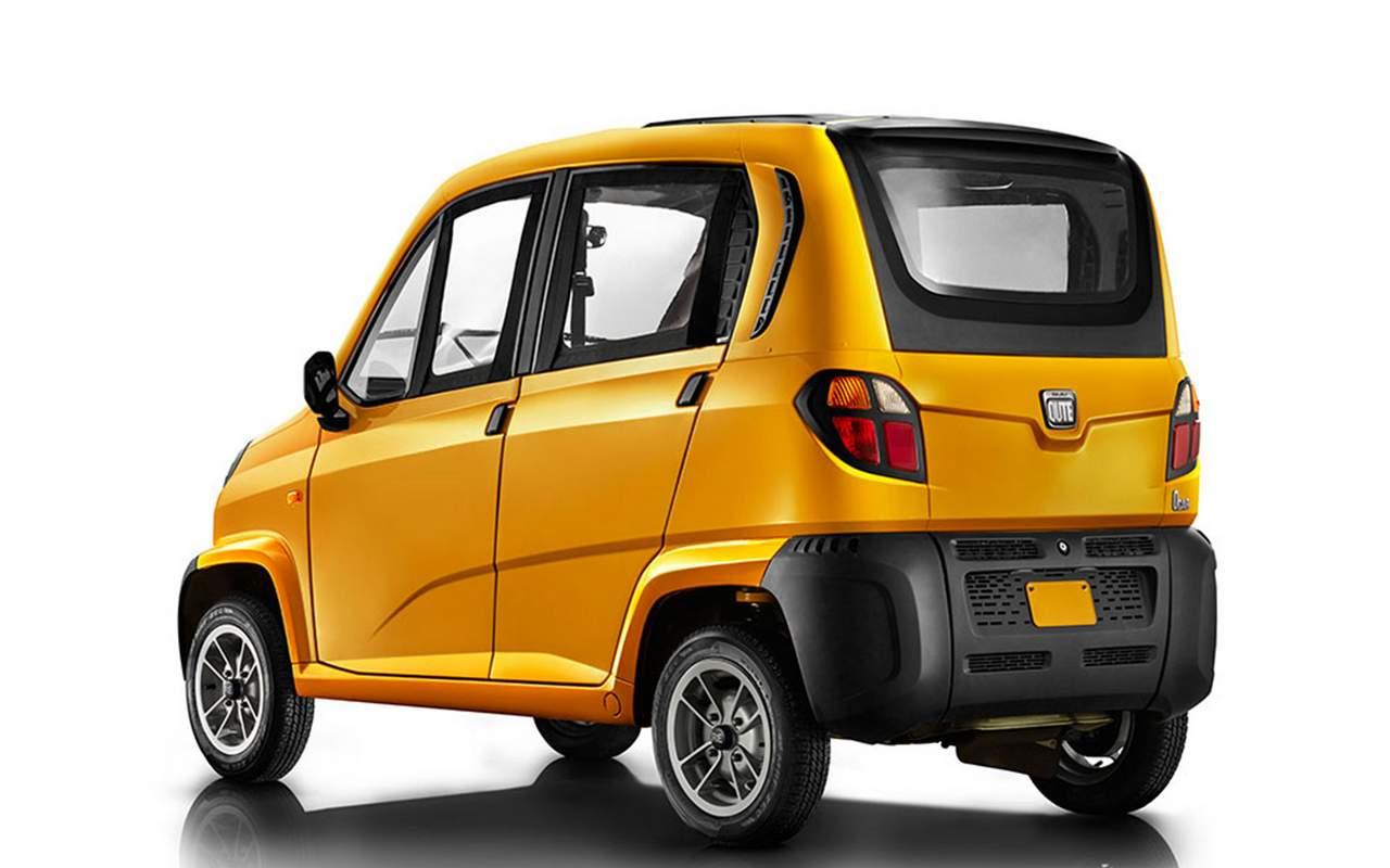 Самый доступный автомобиль Bajaj Qute выйдет в Российской Федерации в обновленной версии
