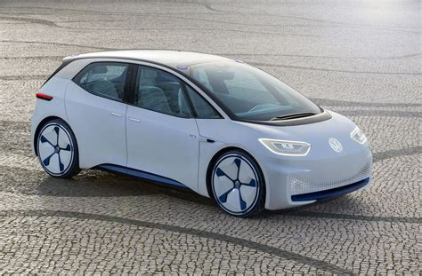 Электрокар VW I.D. пойдёт всерию в 2019-ом году
