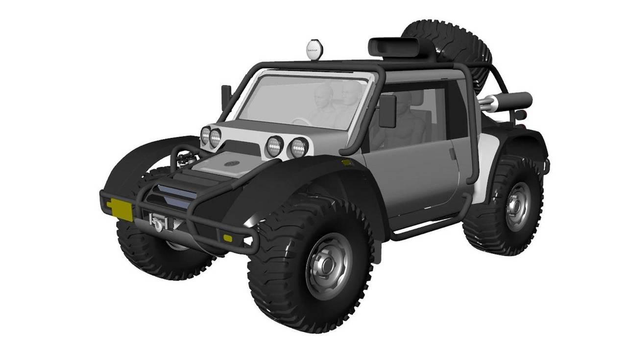 SCG создаст вседорожный автомобиль для покорения вулкана Охос-дель-Саладо вАндах