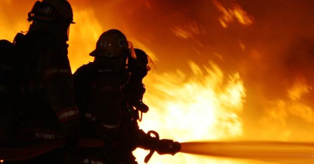 Навостоке столицы впожаре умер человек
