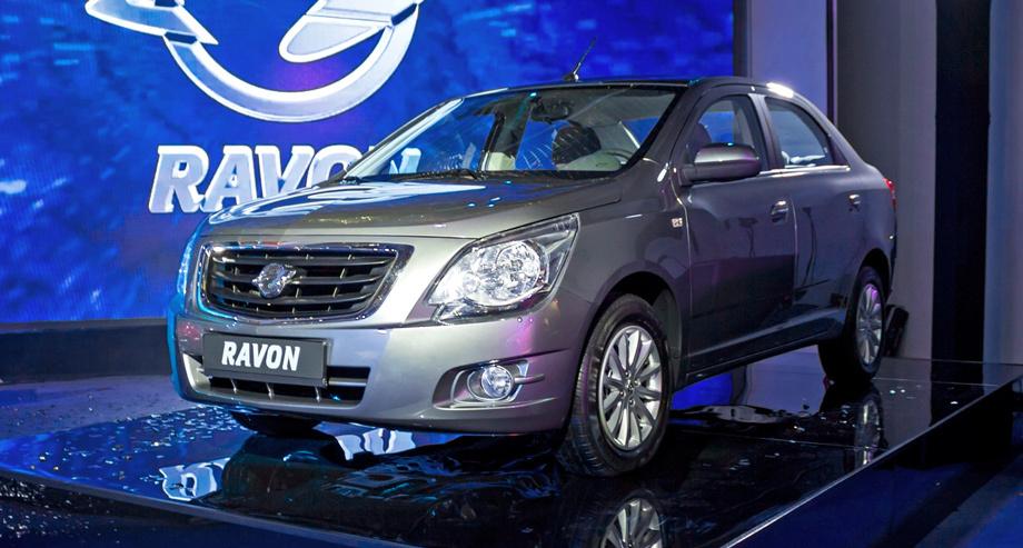 Продажи Ravon в Российской Федерации увеличились до15 000 авто в прошлом году
