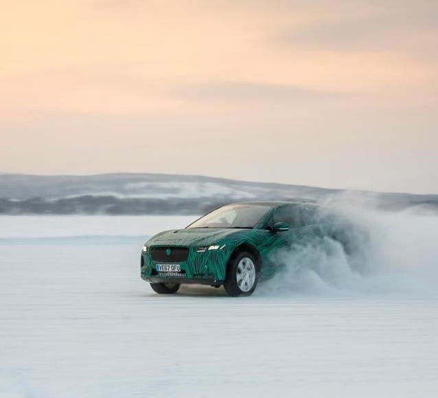 Компания Jaguar показала первый электрический кроссовер