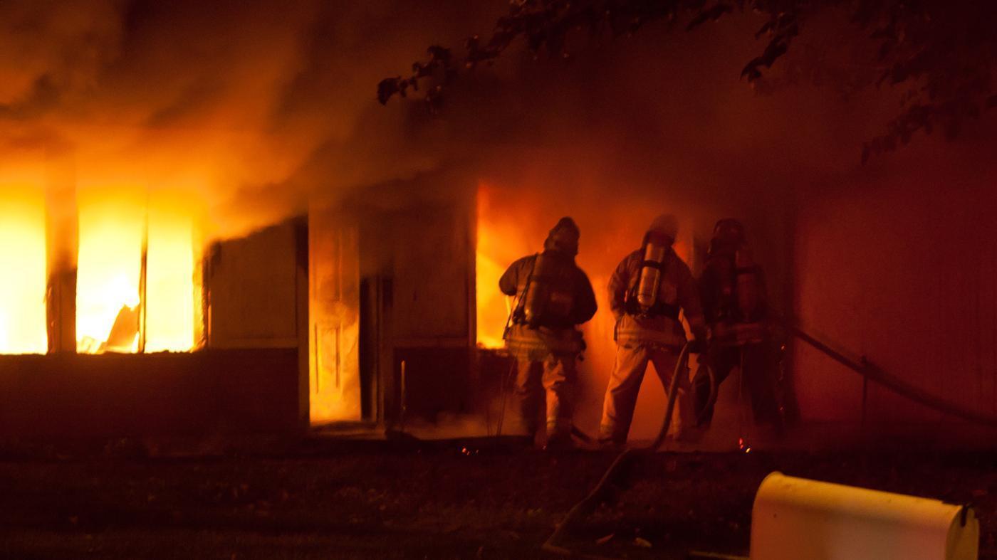 Вцентре столицы впроцессе пожара погибла женщина