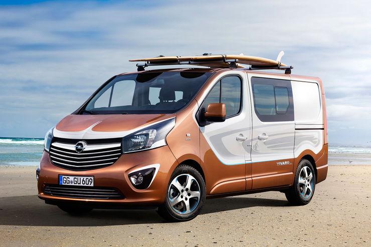 Начался прием заказов на«спортивный» фургон Опель Vivaro Sport