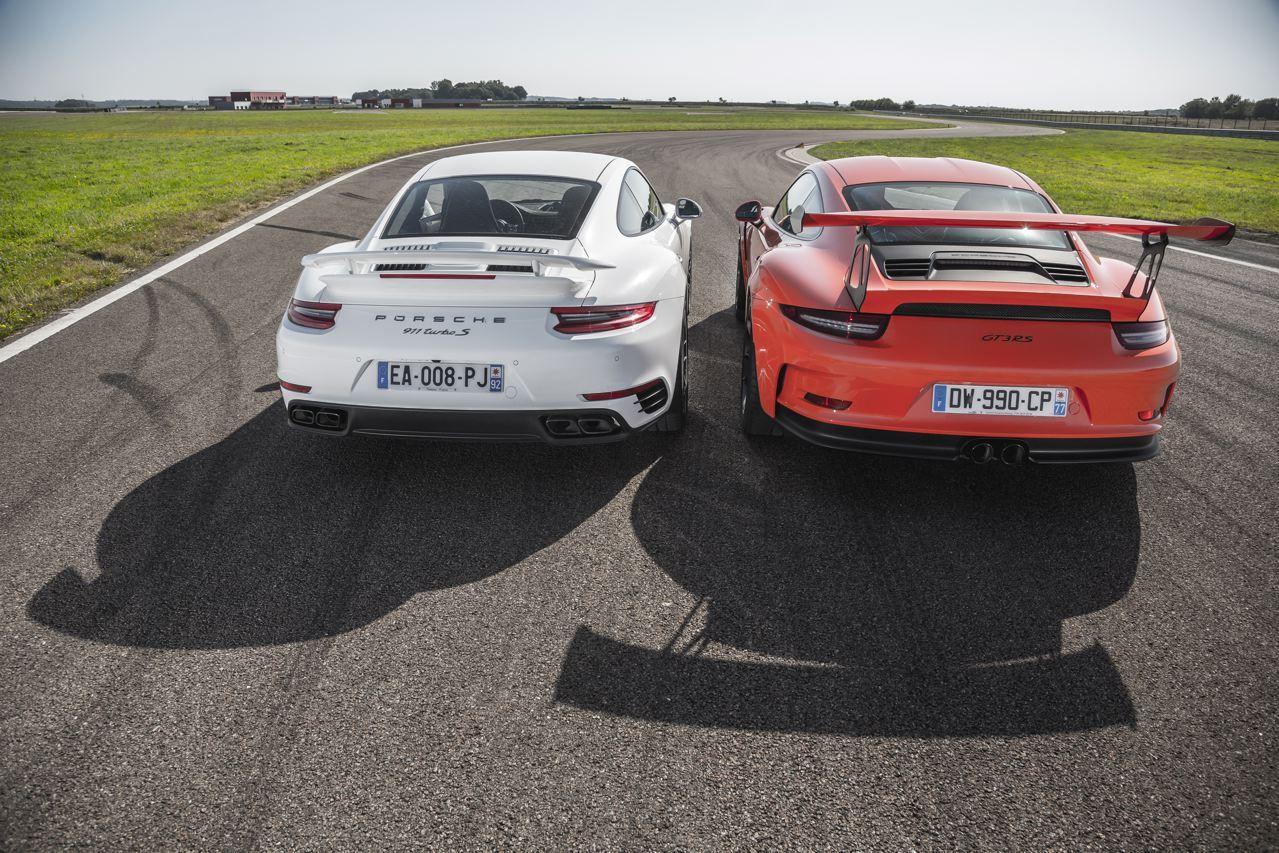 Porshe Turbo-S имеет безусловные преимущества перед GT3 RS— специалисты