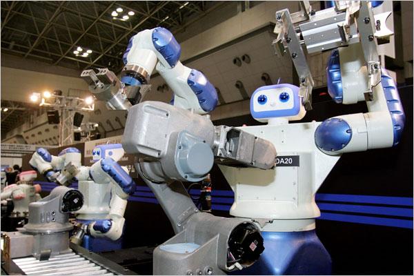 Фабрика в КНР заменила 90% персонала роботами— Восстание машин