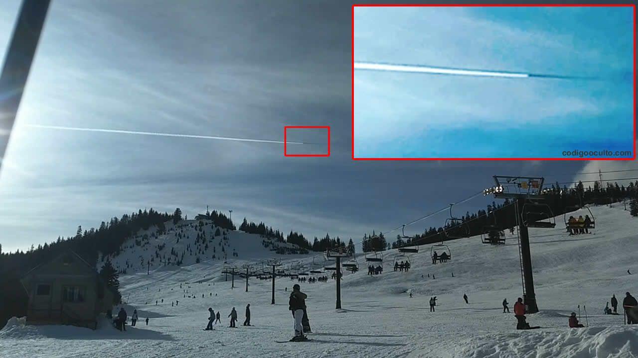 Туристы увидели вСША НЛО, маскирующийся под самолёт