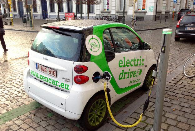 ВШанхае число электромобилей достигло 165 000 единиц