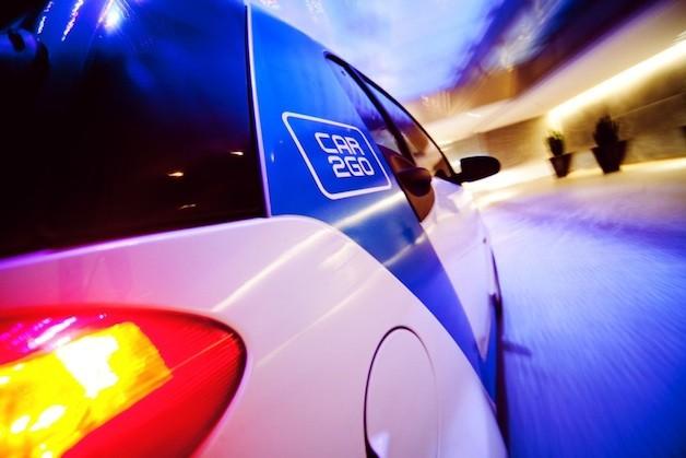 Автомобильный парк сервиса Car2Go был дополнен новыми купе икроссоверами Мерседес Бенс