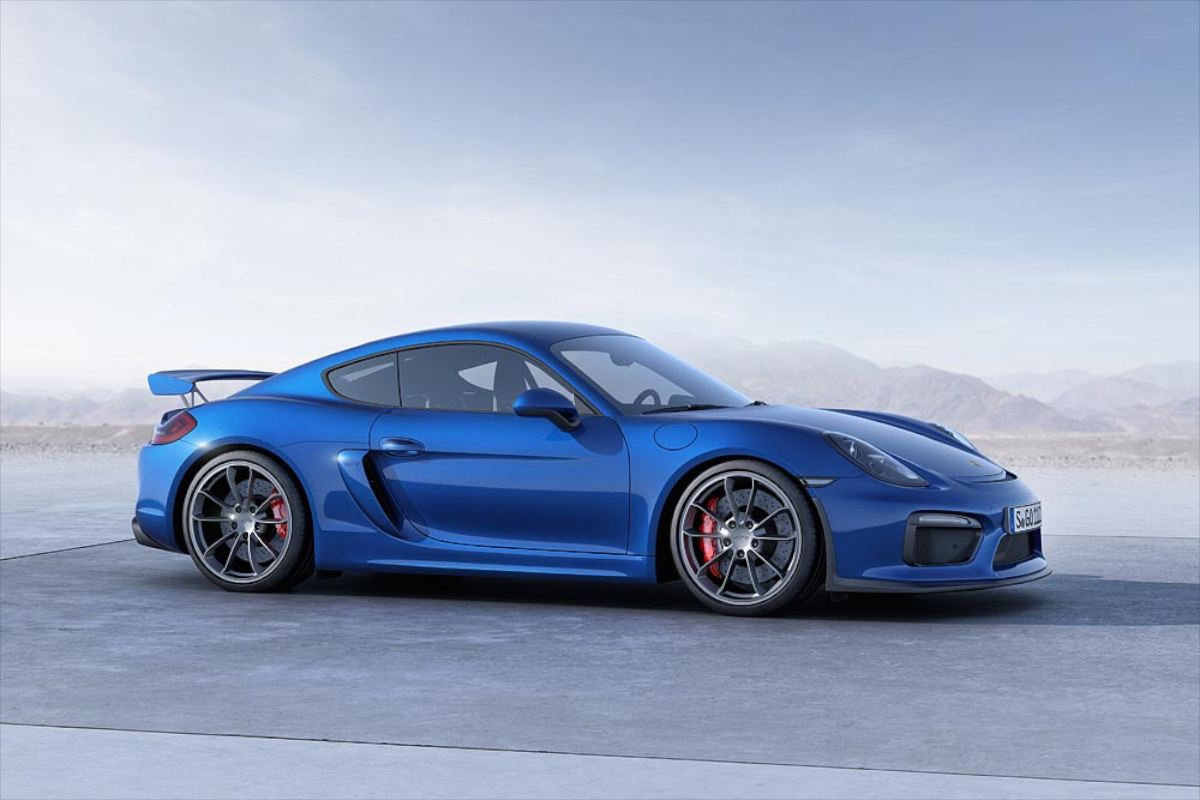 Порш представит спецверсию купе Cayman GT4 RS