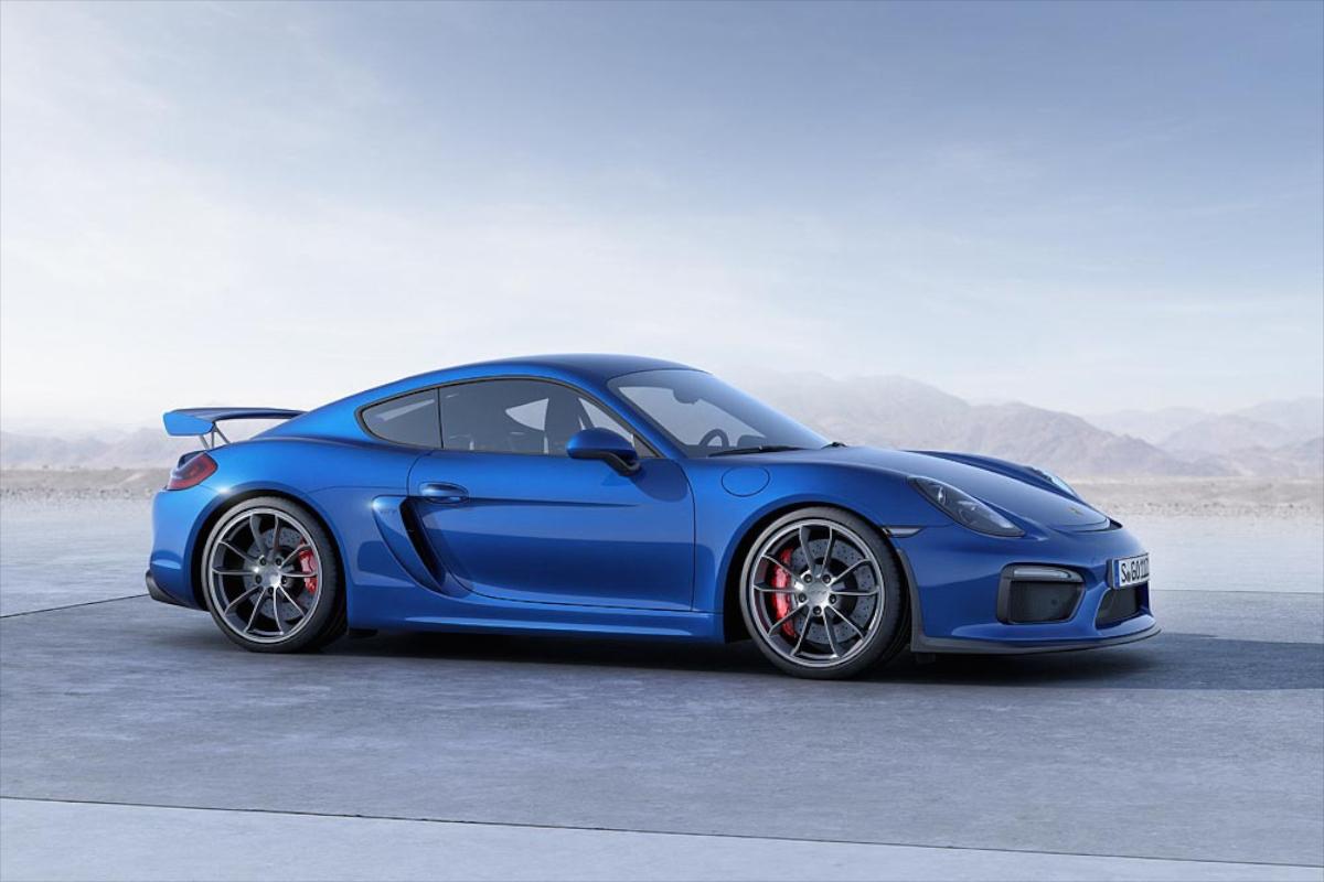 ВЖеневе дебютирует спецверсия купе Porsche Cayman GT4 RS class=