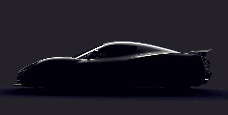 Rimac представит 1200-сильный электрический гиперкар на автомобильном салоне вЖеневе