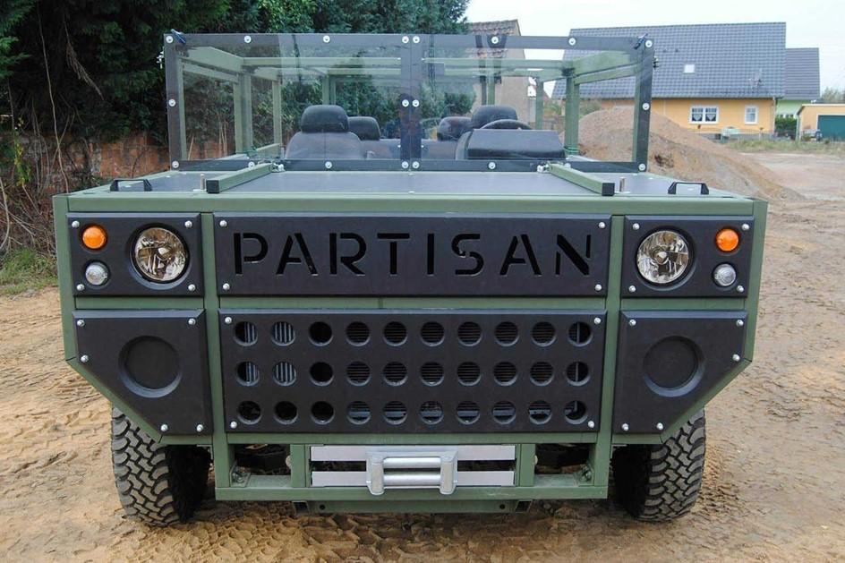 Partisan Motors создала бронированный вседорожный автомобиль Kremlin