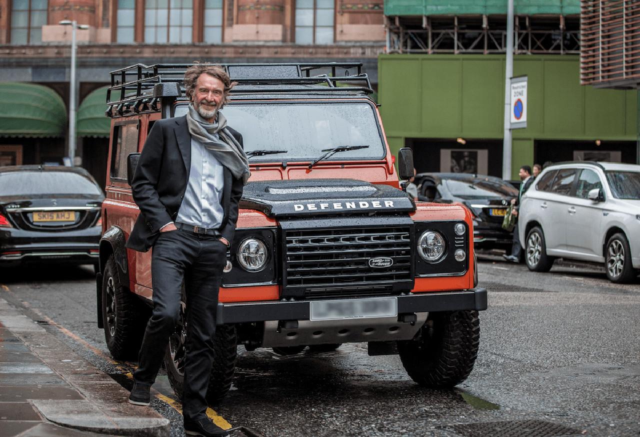 Benz поможет миллиардеру создать замену Land Rover Defender