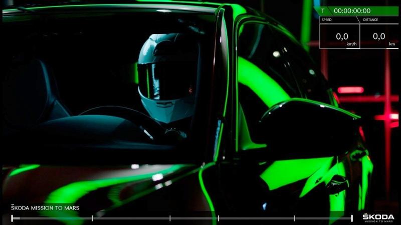 Шкода потроллила Tesla, послав наМарс седан Superb