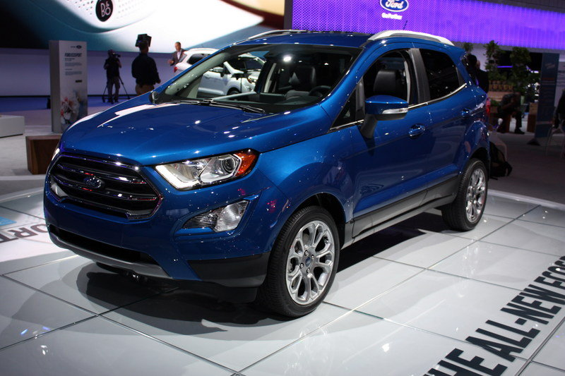 EcoSport: В КНР папарацци запечатлели улучшенный Форд