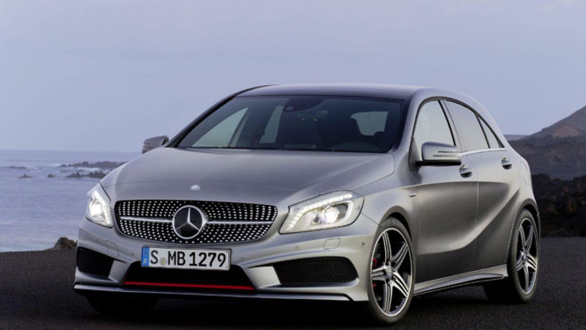 Свежая информация оновом Mercedes A-Class