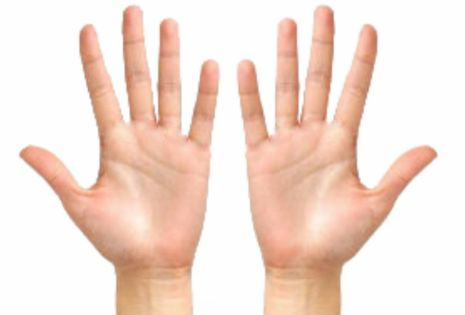 Подлине всего 2-х пальцев руки можно многое узнать очеловеке