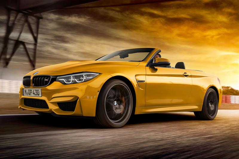 Кабриолет BMW M4 получил спецверсию версию Edition 30 Jahre