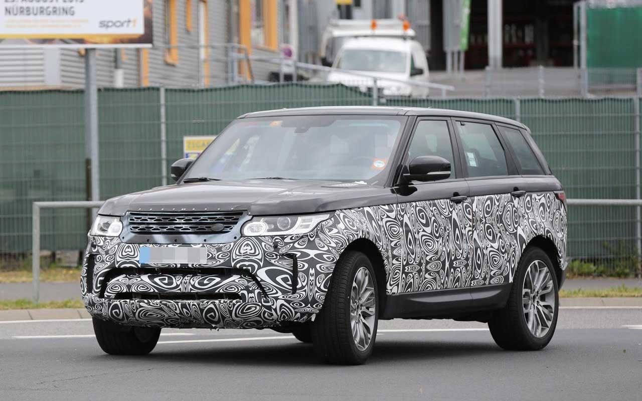Гибридный джип Range Rover 2018 получит новейшую силовую установку