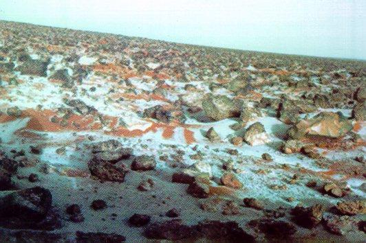 НаМарсе бывает необыкновенный снег— Ученые