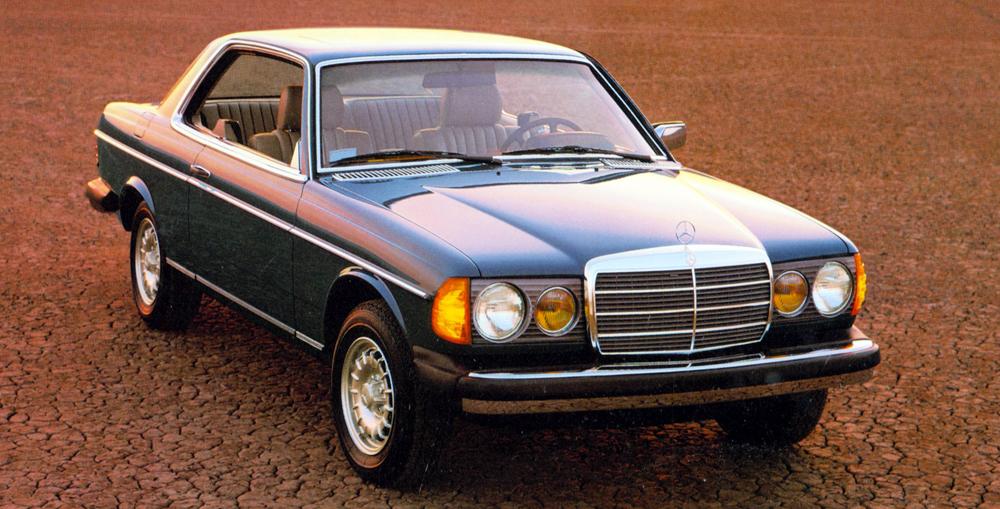 Mercedes отмечает 40-летний юбилей купе E-Class