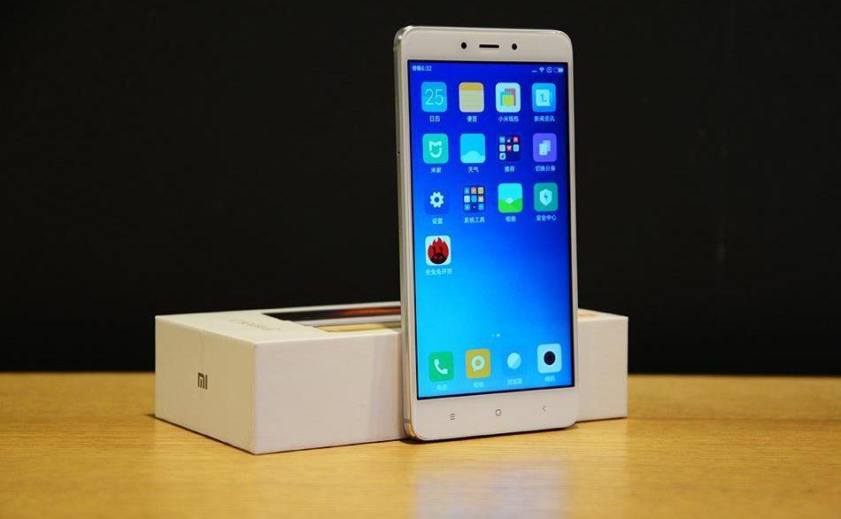Вскором времени будет возможность купить смартфон Xiaomi Redmi Note 4