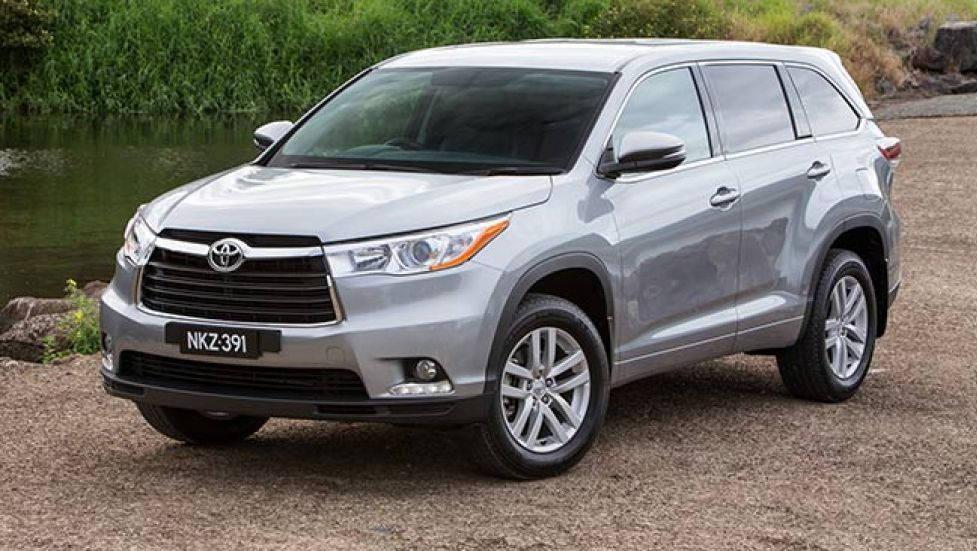 ВАвстралии стартуют продажи нового джипа Тойота Kluger