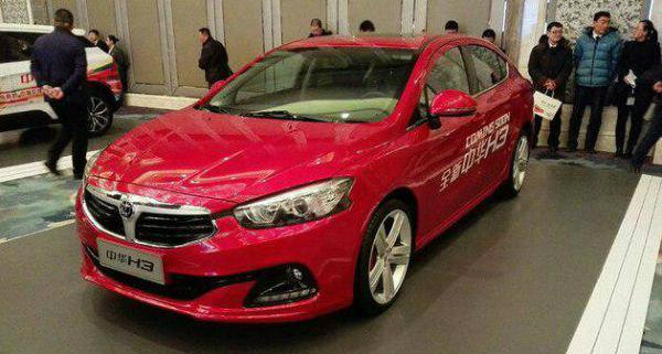 Brilliance обнародовала цены нановый седан H3